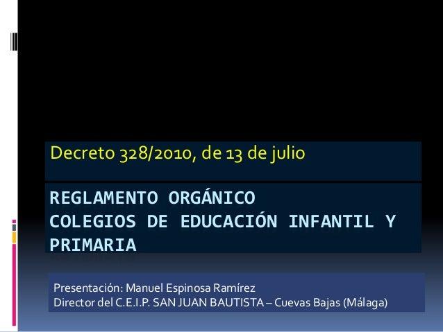 DECRETO 328-2010