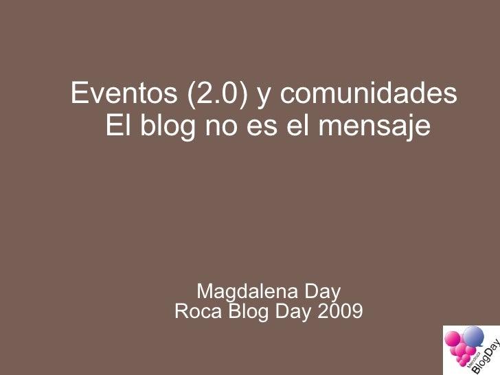 Roca Blog Day