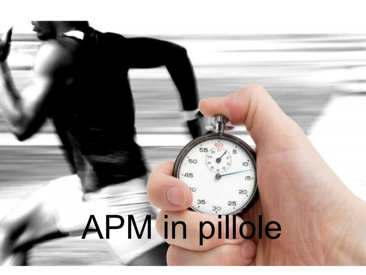 APM in pillole