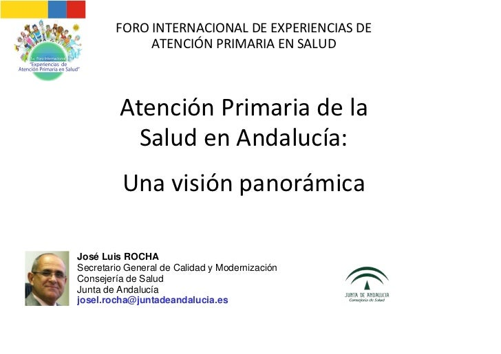 FOROINTERNACIONALDEEXPERIENCIASDE             ATENCIÓNPRIMARIAENSALUD         AtenciónPrimariadela           S...
