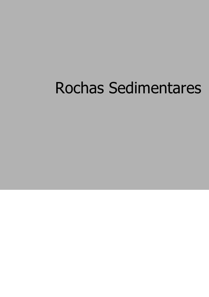 Rochas sedimentares (1)