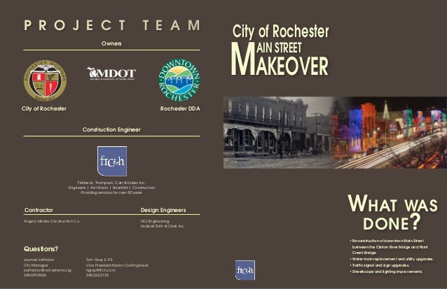 City of Rochester, Main Street Makeover
