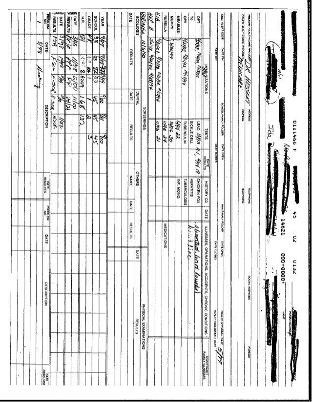 Rochester school records hb lead conf