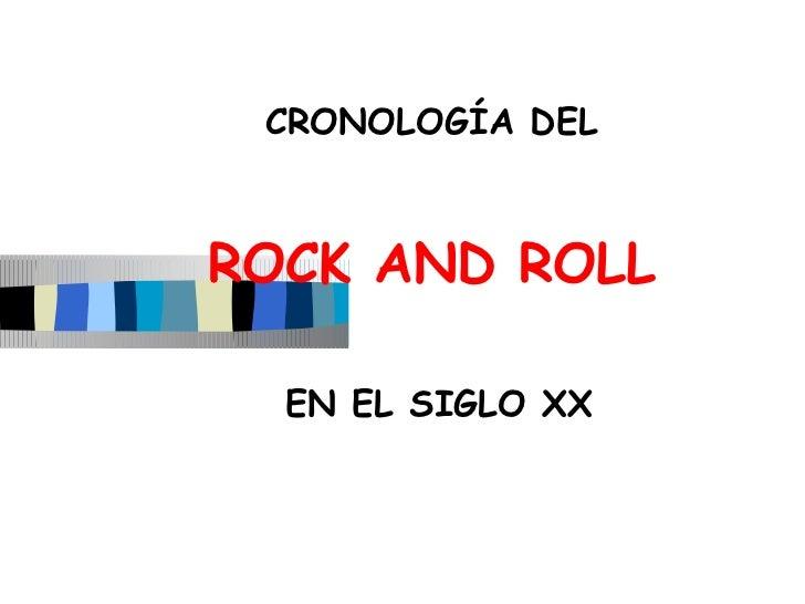 el rock en el siglo XX