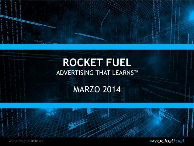 B com 2014 | Real time bidding, la soluzione migliore per una campagna di ADV online_Enrico Quaroni, Rocket Fuel Italia