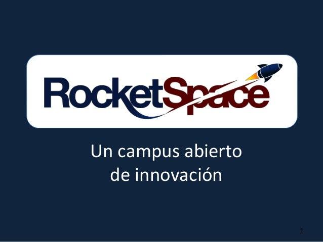 Un campus abierto de innovación 1