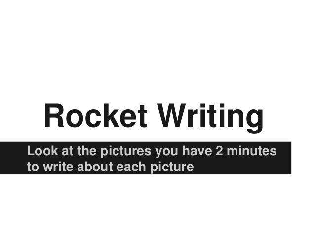 Rocket writing