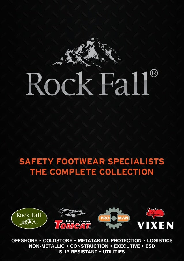 Rock Fall - Safety Footwear & Boots