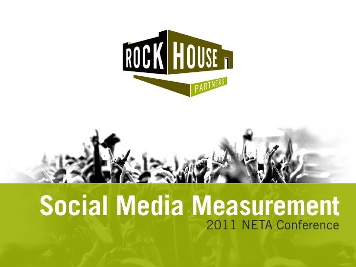Rockhouse partners - social media measurement for neta