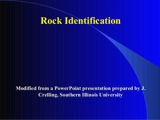 Rock identification igneous kc