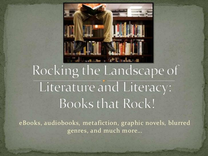 Rocking the landscape U E L M A