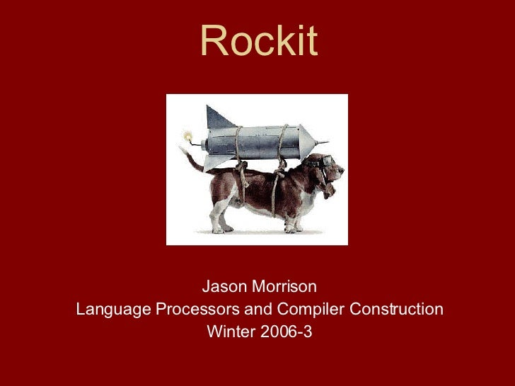 Rockit: A Parser Generator for Ruby