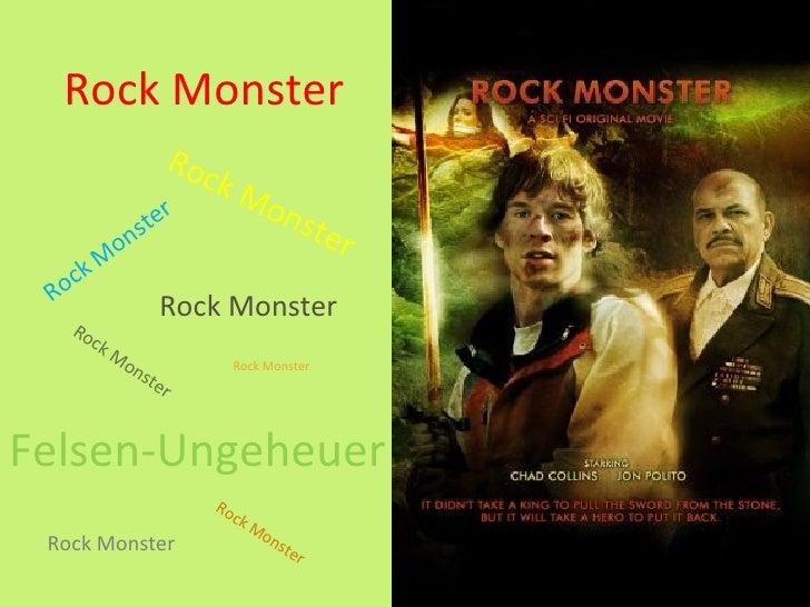 Rock Monster                     R oc                            kM                ter                                    ...