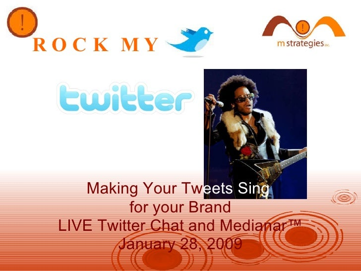 MSI's Rock My Twitter