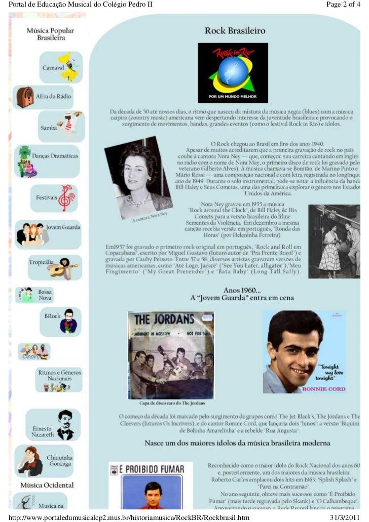 Portal de Educação Musical do Colégio Pedro II                               Page 2 of 4http://www.portaledumusicalcp2.mus...