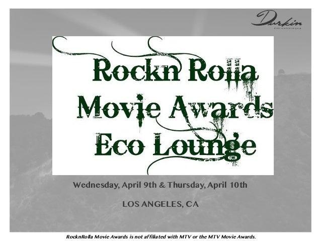 RockNRolla Movie Awards 2014