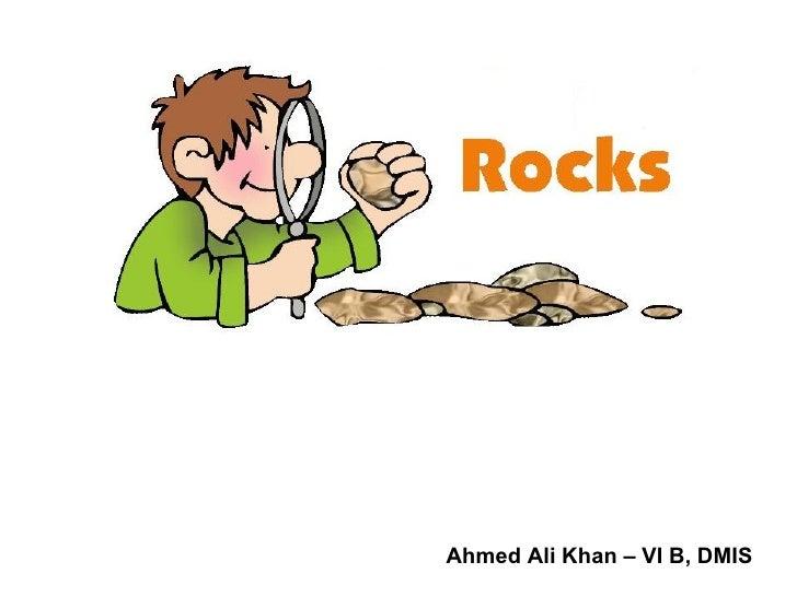 Ahmed Ali Khan – VI B, DMIS