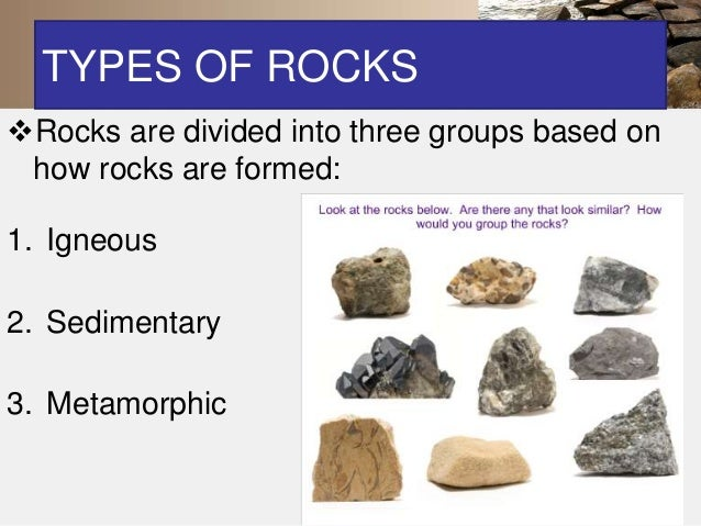 Types of lava and volcanic rock?