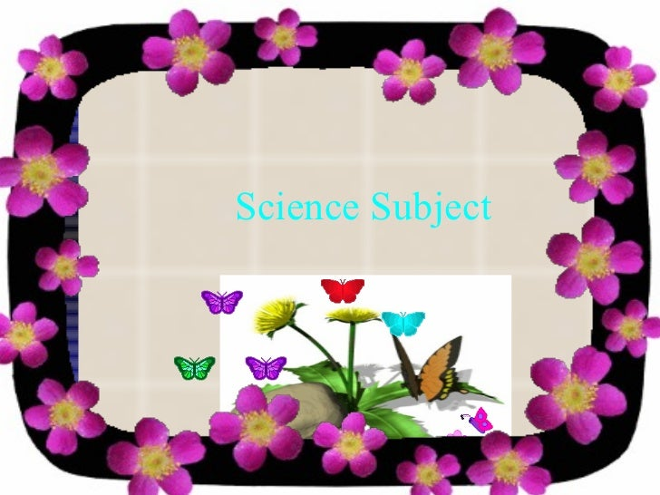 Science Subject