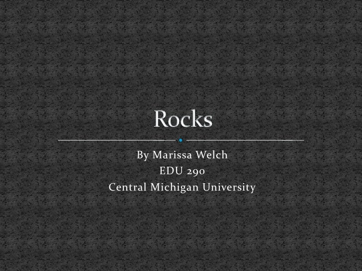 Rocks1 Powerpoint For Tech