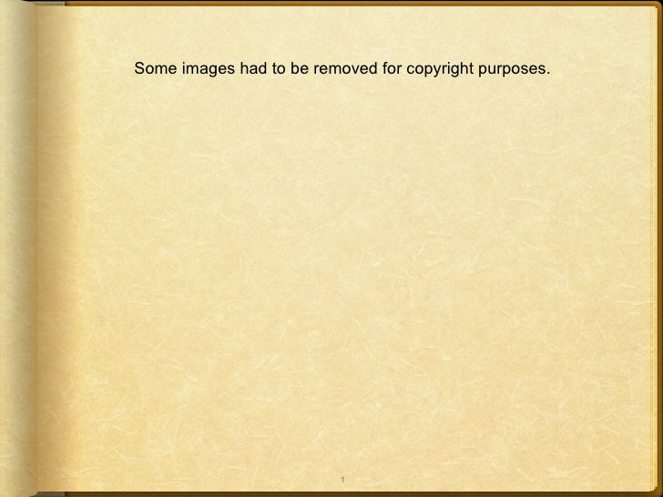 Some images had to be removed for copyright purposes.