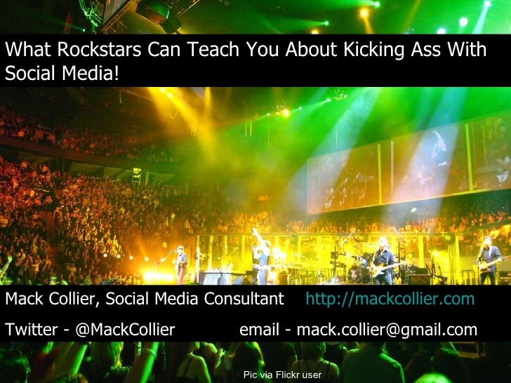 What Rockstars Can Teach You About Kicking Ass With Social Media! What Rockstars Can Teach You About Kicking Ass With Soci...