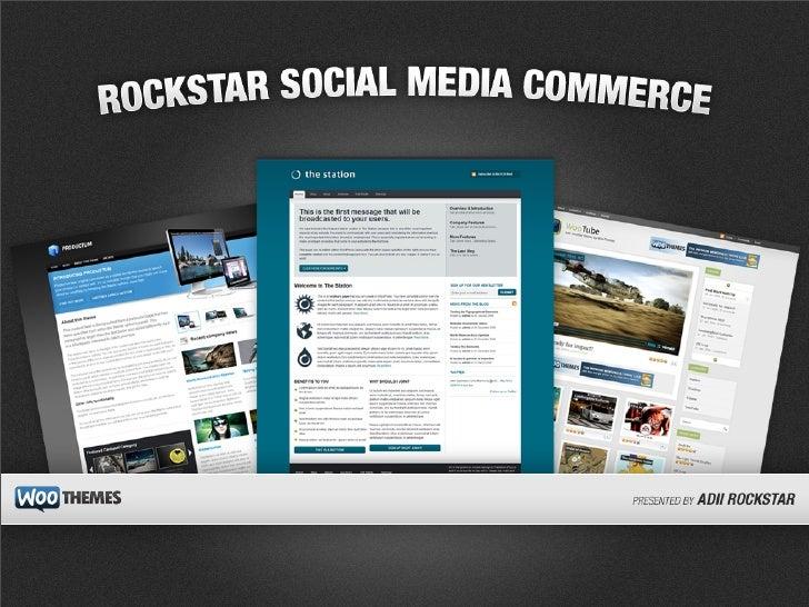 Rockstar Social Media Commerce