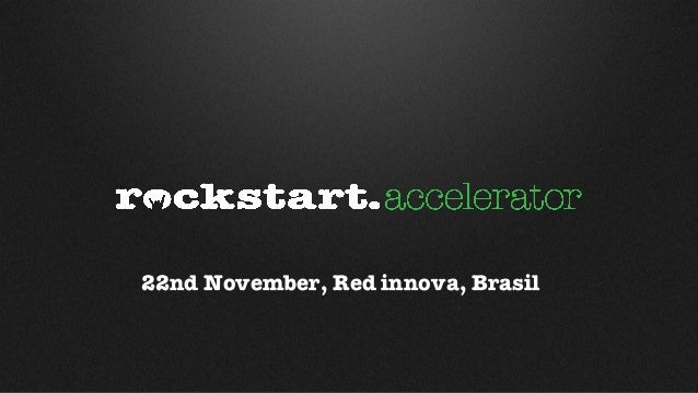 22nd November, Red innova, Brasil