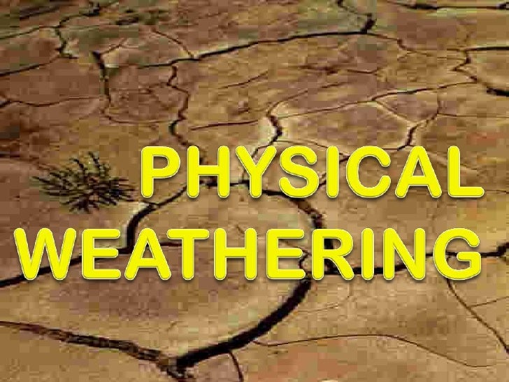 Rocks & weathering lesson 4