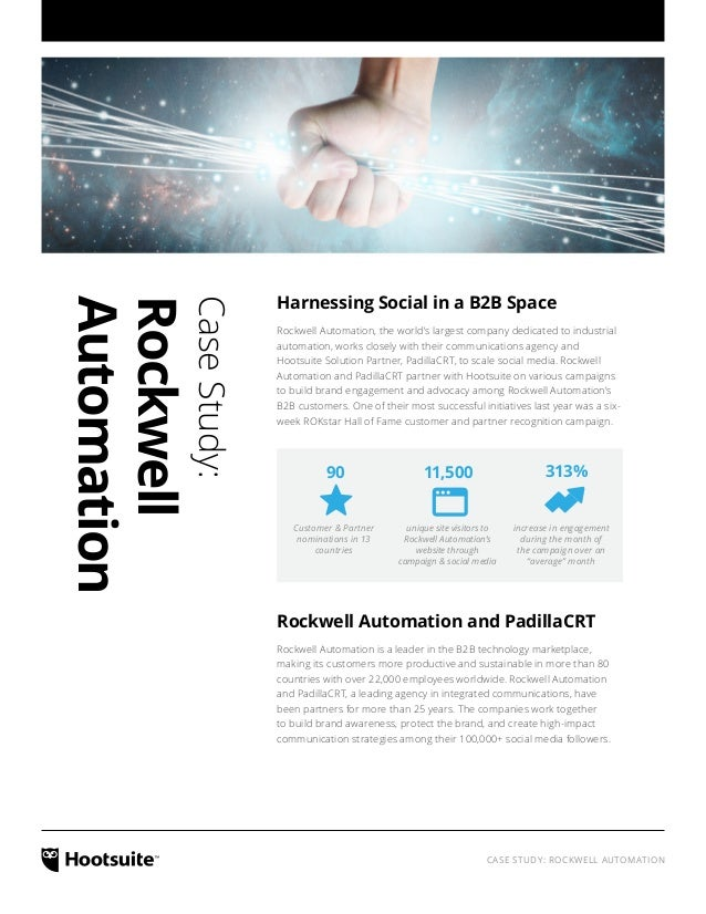 Harnessing Social in a B2B Space: A Case Study With Rockwell Automation