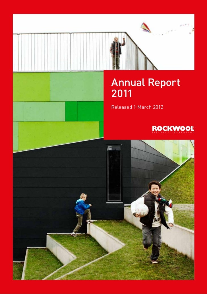 Annual Report2011Released 1 March 2012