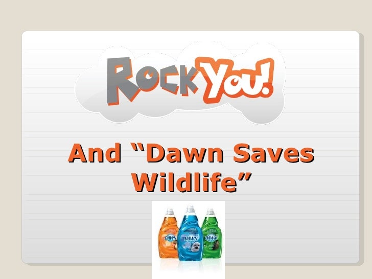 """And """"Dawn Saves Wildlife"""""""