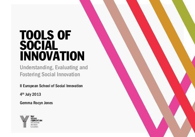 GEMMA ROCYN JONES - Tools of Social Innovation