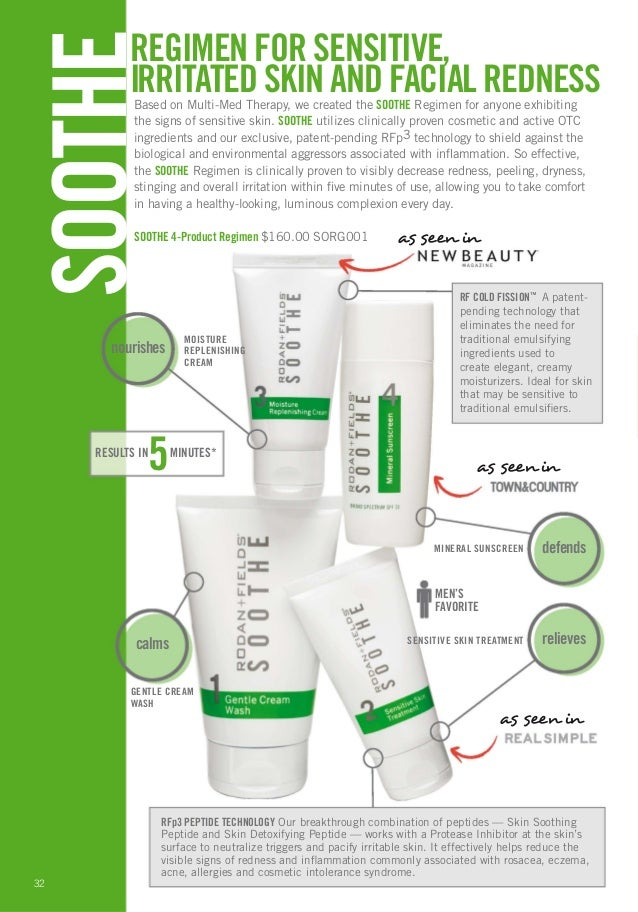 Rodan Fields Skincare Products Guide February 2013 Http