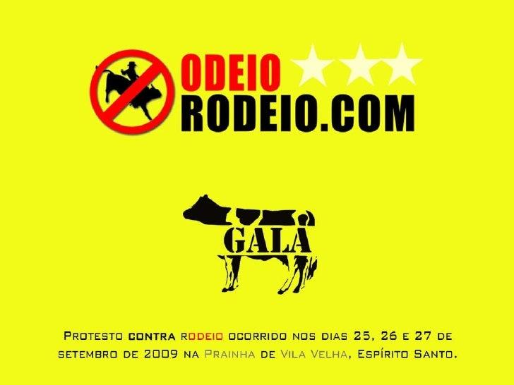 Rodeio Em Vila Velha