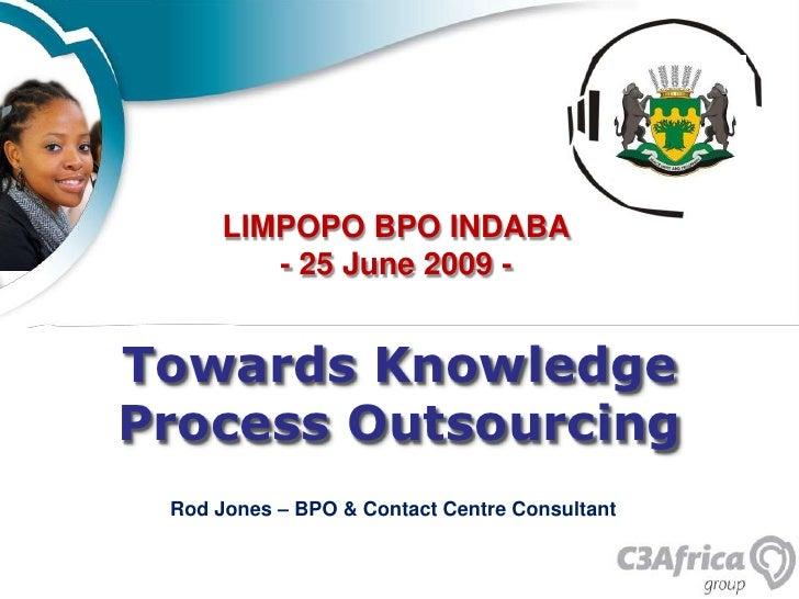 Rod Jones  - An Introduction To KPO  June 09