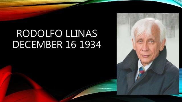 Rodolfo Llinas Nasa Rodolfo Llinas