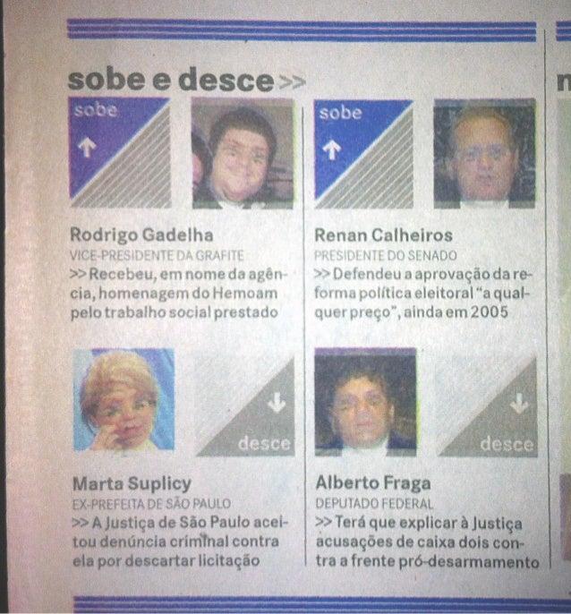 Matéria Jornal A Critica de Manaus em 26 de novembro de 2005.