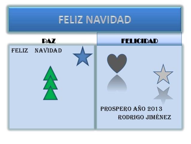 Feliz Navidad Rodrigo J