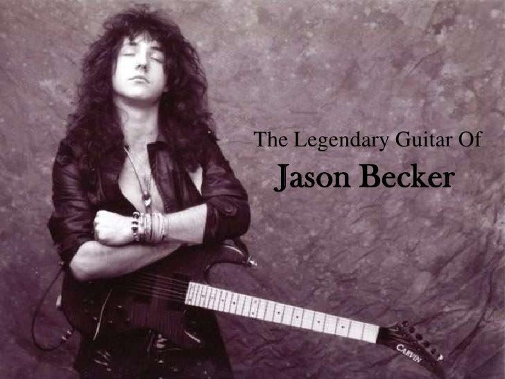 Jason Becker<br />The Legendary Guitar Of<br />