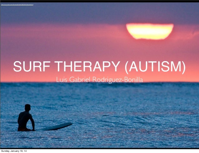 Surf Therapy For Autism - Ignite Presentation - Luis Rodriguez