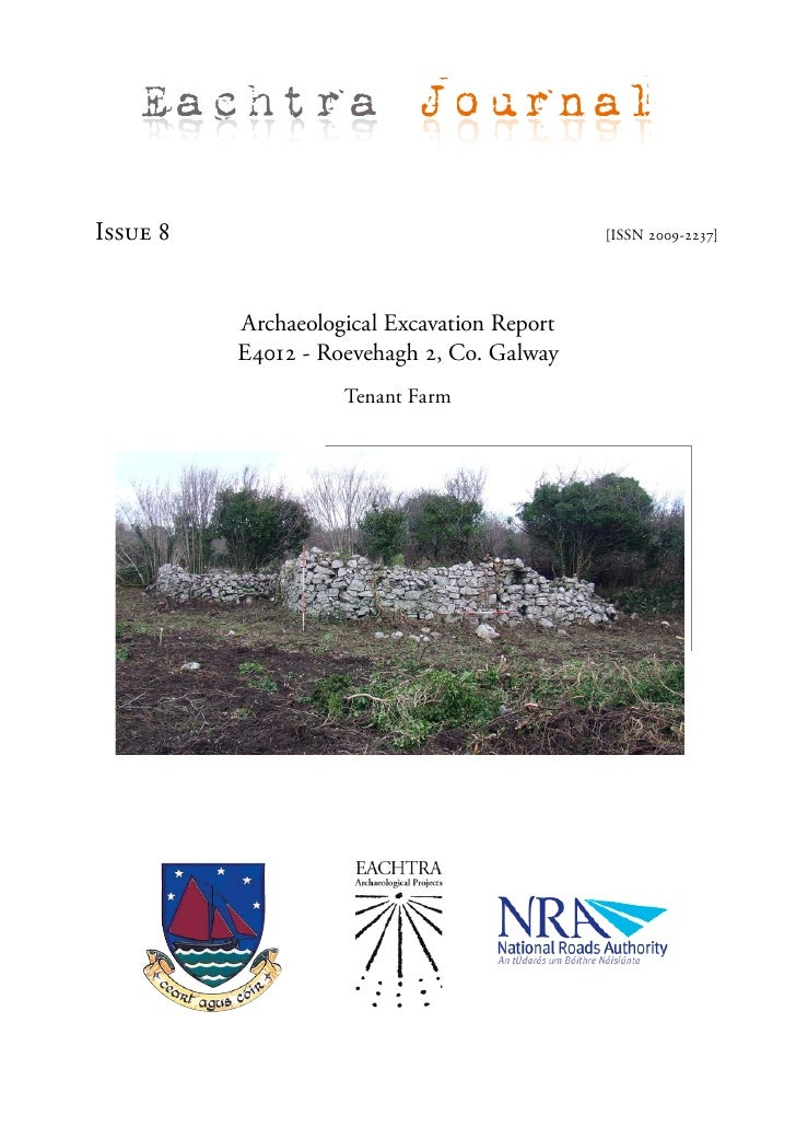 Archaeological Report - Roevehagh 2, Co. Galway (Ireland)