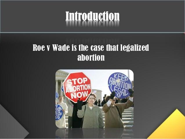 Roe Vs Wade Essay
