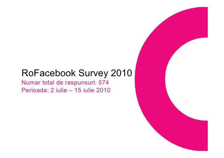 RoFacebook Survey 2010