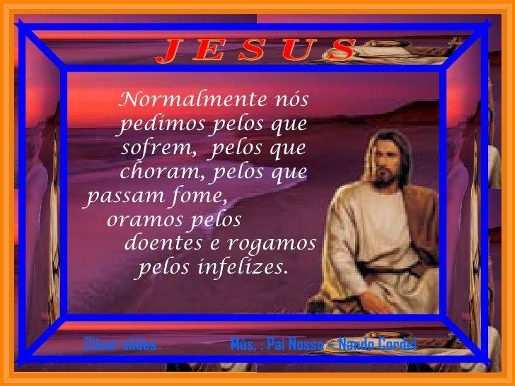 Rogativa a Jesus