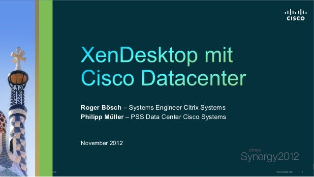 Roger Bösch – Systems Engineer Citrix Systems                                                           Philipp Müller – P...