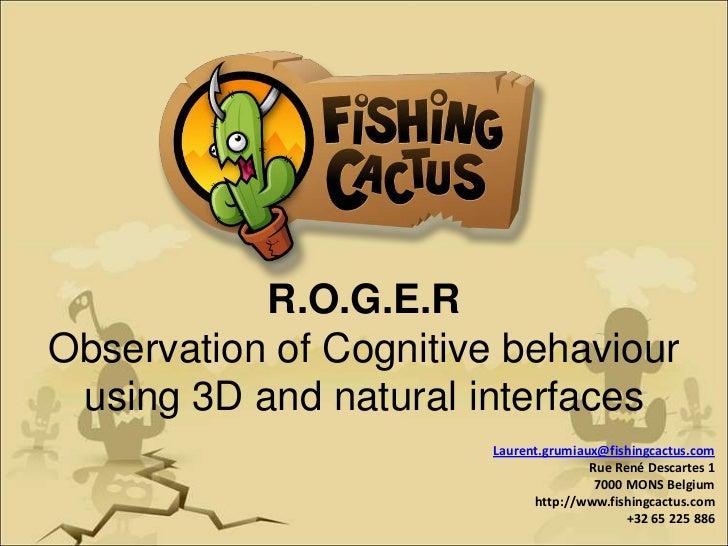 R.O.G.E.R Games for health 2011