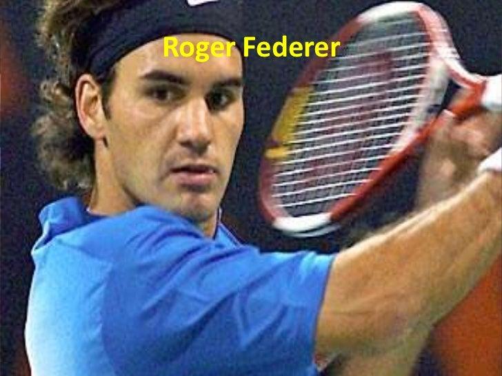 Roger Federer<br />