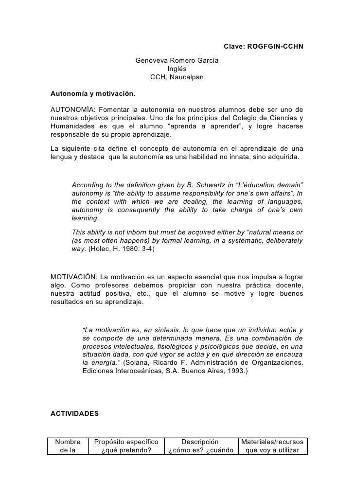 Clave: ROGFGIN-CCHN                           Genoveva Romero García                                   Inglés             ...