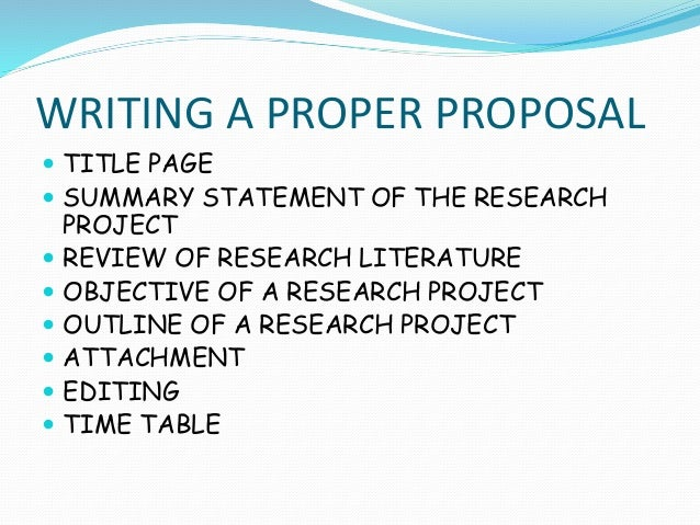 How to write synopsis of thesis
